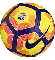 Nike Serie A Strike Football Fußball, Yellow/Purple