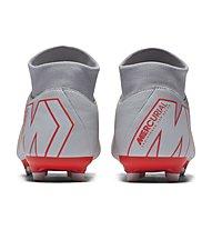 Nike Superfly 6 Academy MG - scarpe da calcio multi-ground, Grey/Orange