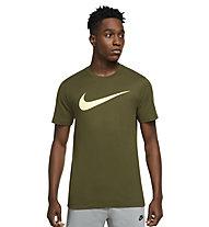 Nike SW Swoosh M's - T-Shirt - Herren , Green