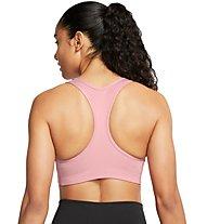 Nike Swoosh - reggiseno sportivo - donna, pink