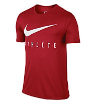 Nike Swoosh Athlete T-Shirt Training Herren, Red
