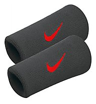 Nike Swoosh Armband Extrabreit - Armbänder, Black/Red