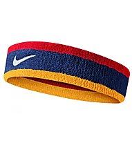 Nike Swoosh - fascia tergisudore, Blue/Red/Yellow