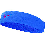 Nike Swoosh Stirnband, Blue/Pink
