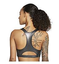Nike Swoosh Icon Clash Medium-Support - Sport BH mittlere Stützung - Damen, Dark Grey