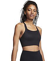Nike Swoosh Luxe - Sport-BH für mittlere Belastung - Damen, Black