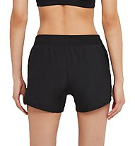 Nike Swoosh Run - pantaloncini running - donna, Black