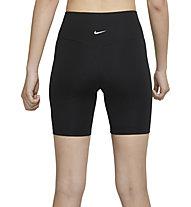 "Nike Swoosh Run 7"" - pantaloncini running - donna, Black"