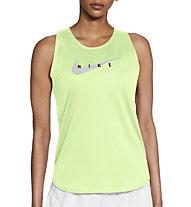 Nike Swoosh Run Running - top running - donna, Green