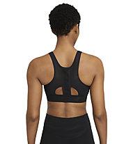Nike Swoosh UB W's Medium-Support - reggiseno a sostegno medio - donna, Black