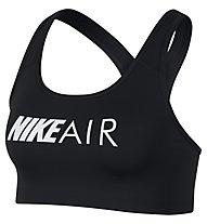 Nike Swoosh Medium Support Graphic Bra ( Cup B) - Sport BH mittlerer Halt - Damen, Black