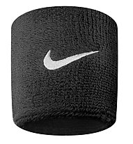 Nike Swoosh Wristbands - Armbänder, Black/White