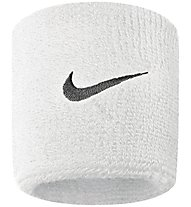 Nike Swoosh Wristbands - Armbänder, White/Black