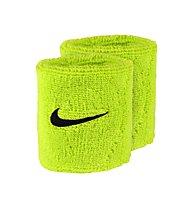 Nike Swoosh Wristbands - polsini tergisudore, Green/Black