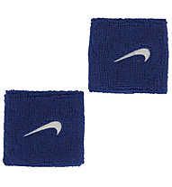 Nike Swoosh Wristbands - Armbänder, Blue/White