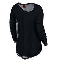 Nike T2 Women's Long-Sleeve, Black/Black/Black