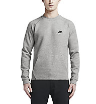 Nike Tech Fleece Crew Sweatshirt Herren, Grey