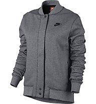 Nike Tech Fleece Destroyer - Trainingsjacke - Damen, Grey