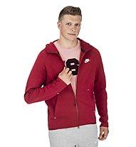 Nike Tech Fleece Hoodie FZ - Kapuzenjacke - Herren, Red