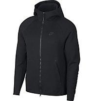 Nike Tech Fleece Hoodie FZ - Kapuzenjacke - Herren, Black