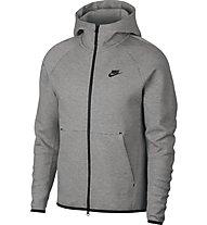 Nike Tech Fleece Hoodie FZ - Kapuzenjacke - Herren, Grey