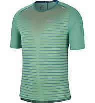 Nike TechKnit Future Fast Run - Laufshirt - Herren, Green