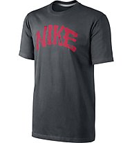 Nike Tee Arch T-Shirt Fitness - T-Shirt, Anthracite