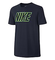 Nike Sportswear Swoosh T-Shirt fitness, Blue