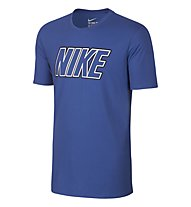 Nike Sportswear Swoosh T-Shirt fitness, Light Blue