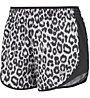 Nike Tempo Lux Printed Running Shorts - Kurze Laufhose - Damen, White/Black
