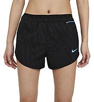 Nike Tempo Luxe Icon Clash Running - pantaloni running - donna, Black/Blue
