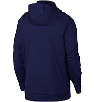 Nike Therma Hoodie Full Zip - Kapuzenjacke Fitness - Herren, Blue