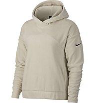 Nike Therma Hoodie Polar - Kapuzenpullover - Damen, White
