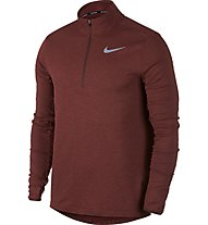 Nike Therma Sphere Element 2.0 Top HZ - Laufshirt Langarm - Herren, Dark Red