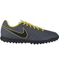 Nike Tiempo Legend 7 Club TF - scarpe da calcio per terreni duri, Dark Grey/Yellow