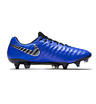 Nike Tiempo Legend 7 Elite SG-Pro Anti-Clog - Fußballschuh weiche Böden, Blue/Black
