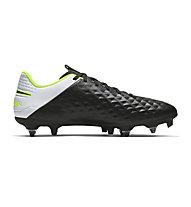 Nike Tiempo Legend 8 Academy SG-PRO Anti-Clog - scarpe da calcio terreni morbidi, Black/White