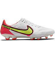 Nike Tiempo Legend 9 Pro FG - Fußballschuhe - Herren, White/Red