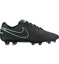 Nike Tiempo Legend VI FG - scarpe da calcio terreni compatti, Black
