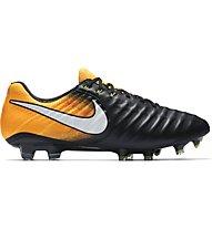 Nike Tiempo Legend VII FG - Fußballschuhe, Black/Orange