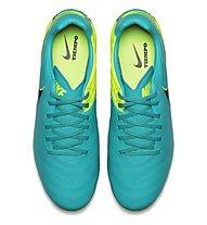 Nike Tiempo Mystic V FG - Herren Fußballschuh für Naturrasen, Clear Jade/Black/Volt