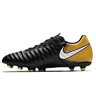 Nike Tiempo Rio IV FG - Fußballschuh, Black/White/Orange