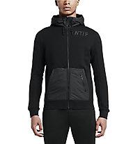 Nike Track and Field Full Zip Hoody Kapuzenjacke, Black