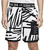 Nike Training - Trainingshose kurz - Herren, Black/White