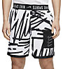 Nike Training - pantaloni corti fitness - uomo, Black/White
