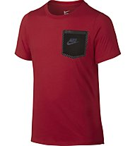 Nike Tri Blend Tech TD T-Shirt Boys, University Red