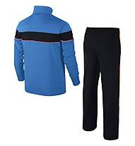 Nike Warm Up tuta da ginnastica bambino, Blue/Black