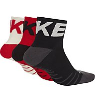 Nike Everyday Max Training Crew (3 Pairs) - Kurze Socken (3 Paare), Black/Red/White