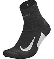 Nike Elite Cushion Quarter Running - calzini running - unisex, Black