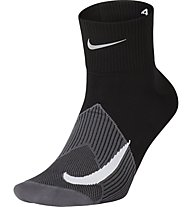 Nike Elite Lightweight Quarter - calzini running, Black